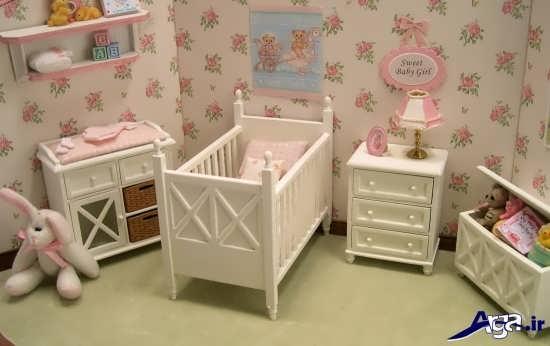 طراحی دکوراسیون داخلی برای اتاق نوزاد