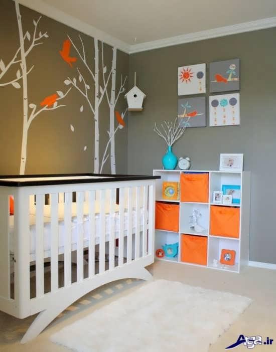 طراحی جدید اتاق نوزاد