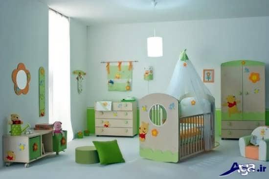 دکوراسیون زیبا برای اتاق نوزاد