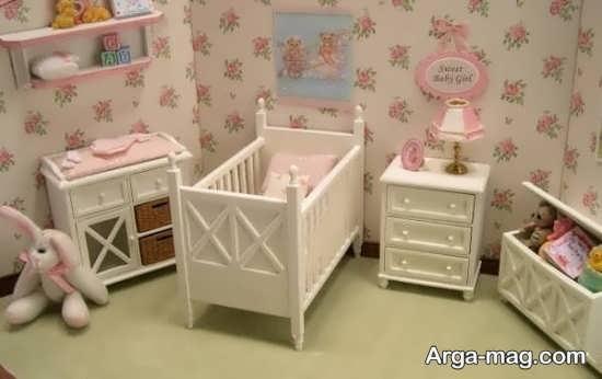 طراحی اتاق نوزاد دختر با چند ایده خلاقانه