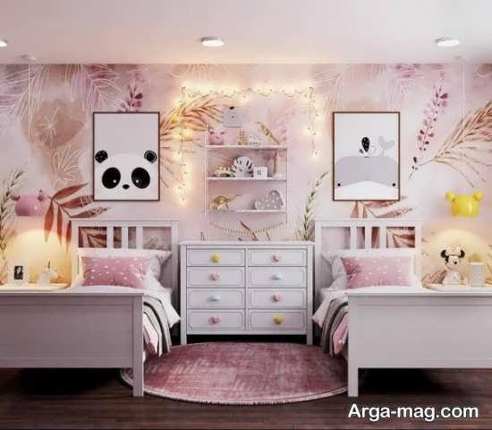 ایده های تزیین اتاق نوزاد دختر