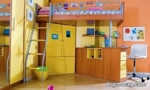 جدیدترین کمد دیواری اتاق کودک
