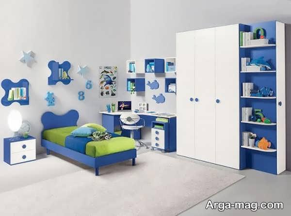 مدل جدید کمد دیواری اتاق نوجوان