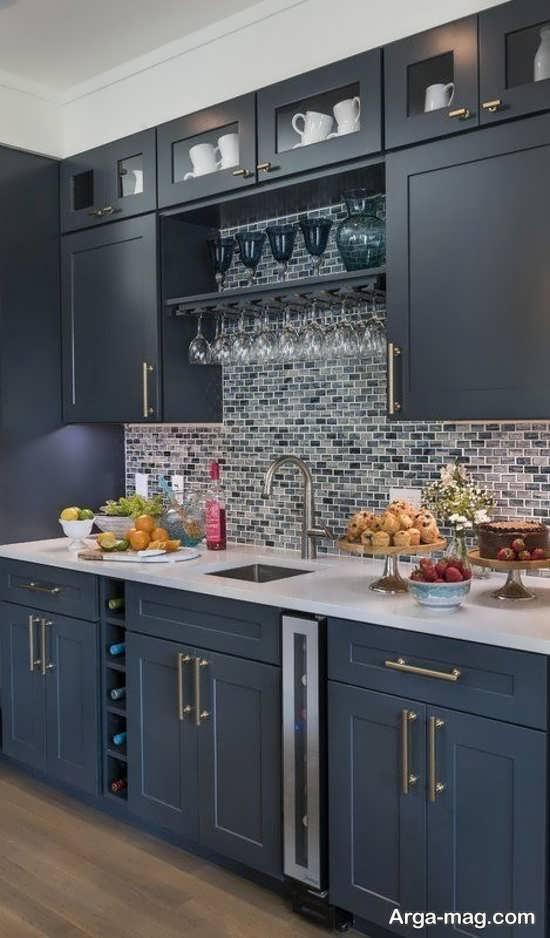 انواع رنگ کابینتهای آشپزخانه