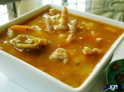 طرز تهیه سوپ پای مرغ خوشمزه