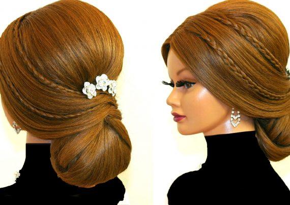مدل شینیون موهای بلند زنانه و دخترانه