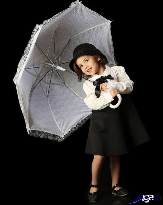 عکس زیبا از کودک در آتلیه