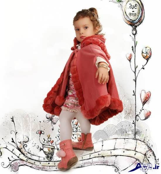 ژست عکس کودک در آتلیه