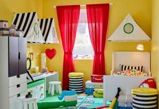 تزیین اتاق کودک با وسایل دور ریختنی