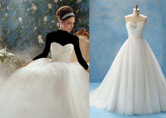 مدل لباس عروس سیندرلایی شیک و زیبا