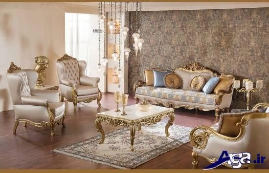 مدل مبل سلطنتی برای خانه های لوکس