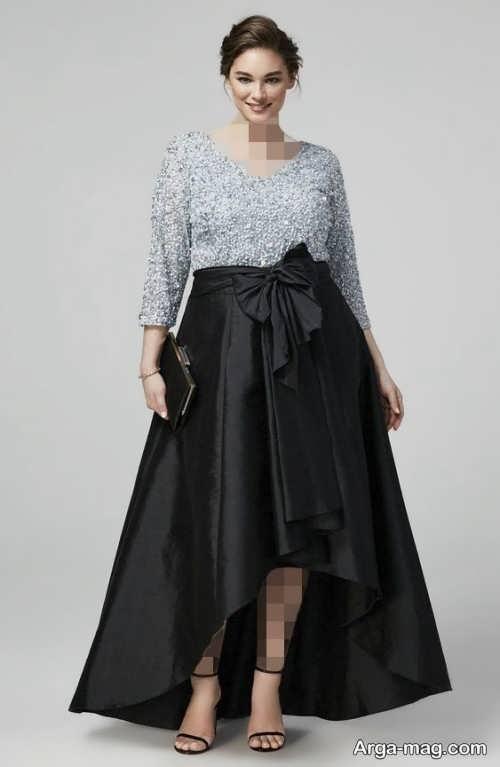 مدل لباس برای افراد با شکم بزرگ