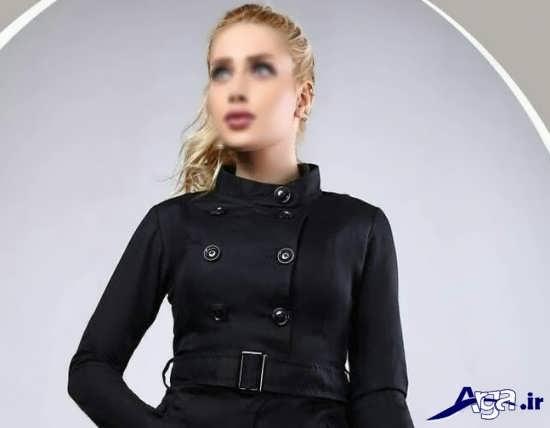 مدل یقه مانتو اسپرت دخترانه