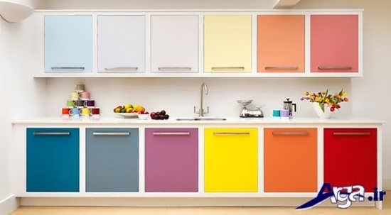 راهنمای انتخاب رنگ کابینت برای آشپزخانه