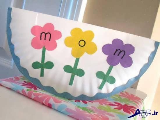 کاردستی ساده برای روز مادر