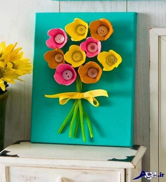 کاردستی برای تبریک روز مادر