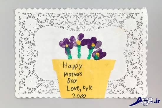 ساخت کاردستی با کاغذ برای روز مادر