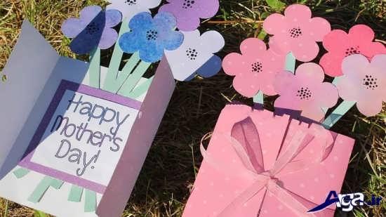 کاردستی خلاقانه برای روز مادر