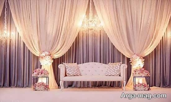 تزیینات دیدنی جایگاه عروس
