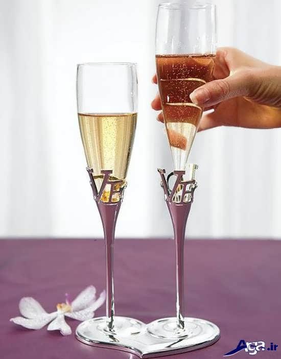 تزیین جام عسل شیک و زیبا