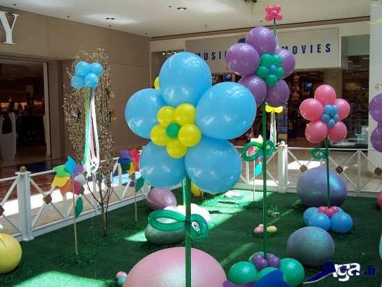تزیین بادکنک تولد برای بچه ها