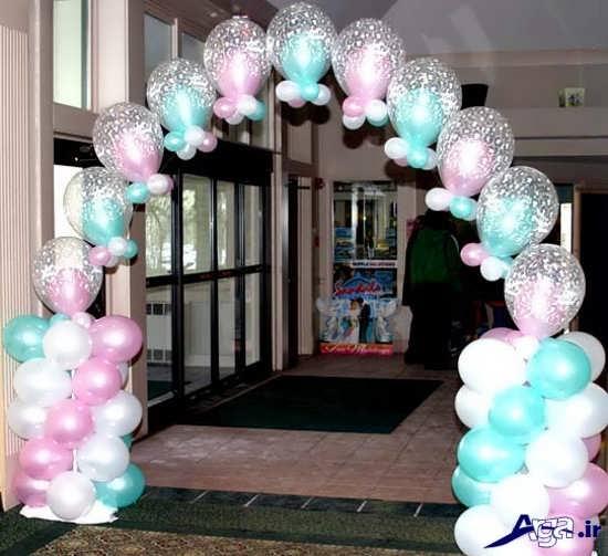 تزیین بادکنک برای جشن تولد کودکان