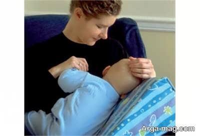 رفع مشکل شیر نخوردن نوزاد