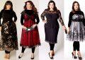 مدل لباس برای افراد شکم دار با طرح های زیبا