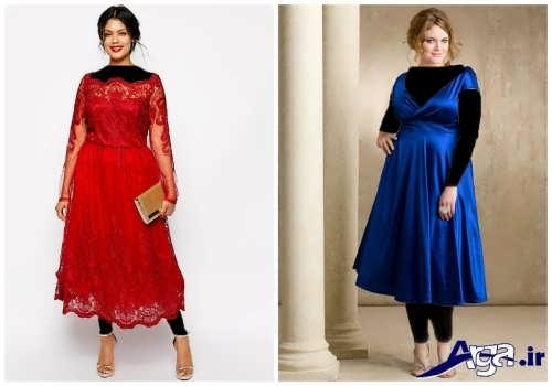 مدل لباس برای افراد شکم دار با جدیدترین طرح های مد سال