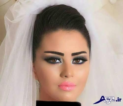 مدل آرایش خلیجی چشم عروس
