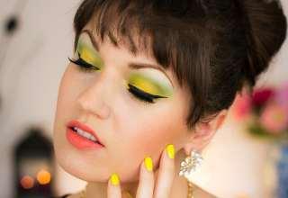 مدل آرایش چشم خلیجی