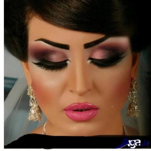 مدل آرایش زیبا و متفاوت چشم خلیجی