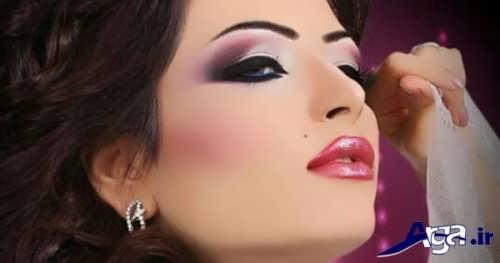 مدل آرایش خلیجی چشم