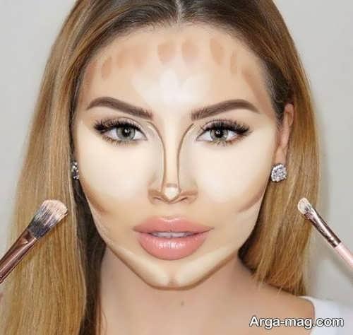 آموزش گریم چهره