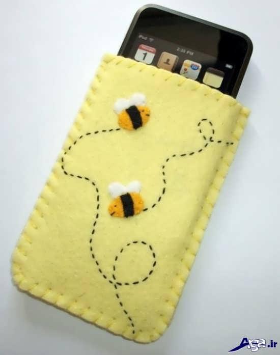 روش ساخت کیف های ساده آموزش ساخت کیف گوشی نمدی با ایده های جذاب و جدید