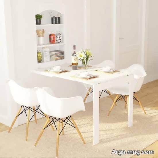 مدل میز تاشو دیواری زیبا