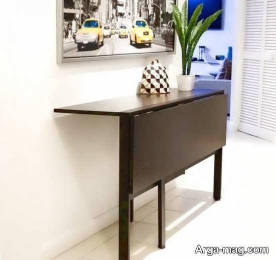مدل میز تاشو دیواری ایده آل