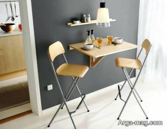 مدل میز تاشو دیواری عالی