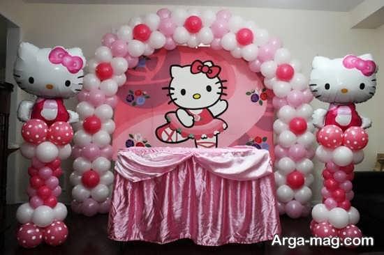 تم تولدی زیبا برای دختران