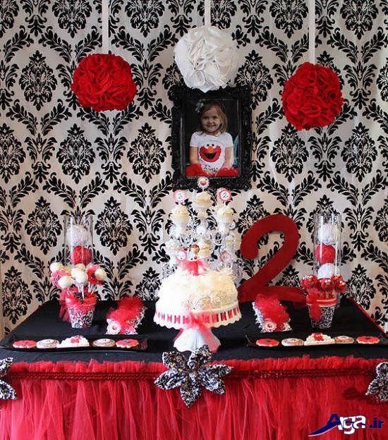 مدل تم تولد قرمز سفید برای کودکان