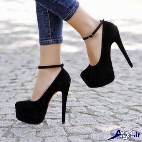 مدل کفش مشکی و ساده دخترانه