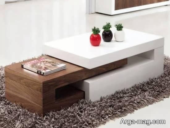 مدل میز جلو مبلی مدرن