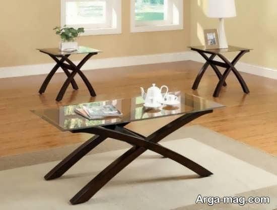 جدیدترین مدل میز جلو مبلی