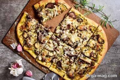 تهیه پیتزا ایتالیایی بدون فر