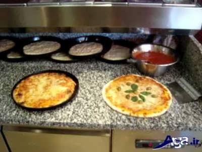 طرز تهیه پیتزا ایتالیایی