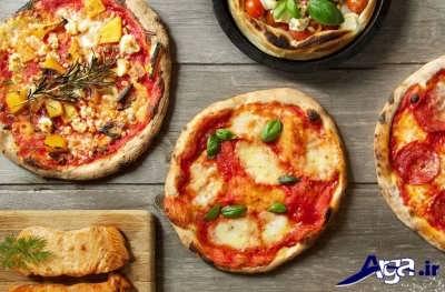 طرز تهیه پیتزا ایتالیایی در خانه
