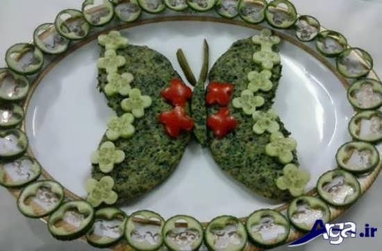 تزیین زیبا و خلاقانه کوکوی سبزی