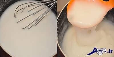 طرز تهیه فرنی با آرد برنج در منزل