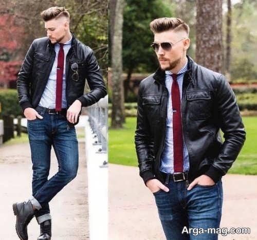مدل کت اسپرت مردانه چرمی