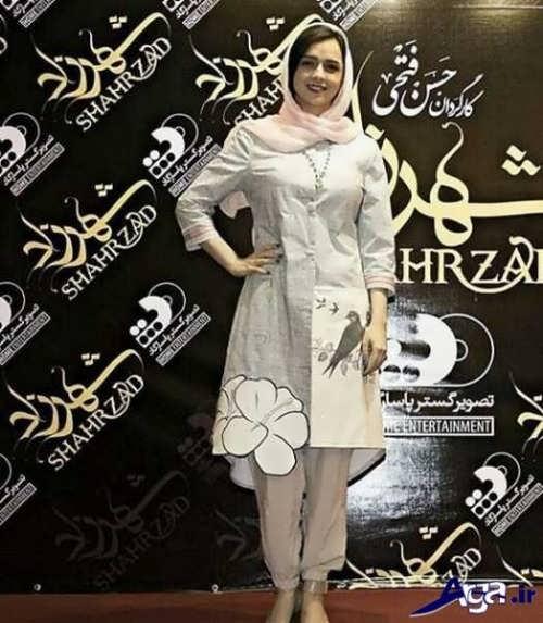 مدل مانتو ترانه علیدوستی در جشن حافظ